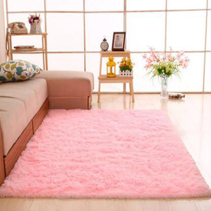 Large size Fashion Carpet Bedroom Decorating Soft Floor Warm ...