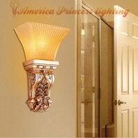 Retro wandlamp slaapkamer nachtkastje wandlamp gangpad lichten gang entreehal wandlamp  E14  AC110-240V.