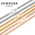 Sumsoar Jewelry Chain with a O-ring closure and 70cm Chain with Clasp for My Coin Holder Frame Pendant 10pcs/lot NH02G50