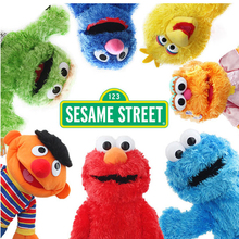 Sesame Street Elmo and Friends Oscar Cookie Grover Zoe Ernie Big Bird Stuffed Plush Toy Doll