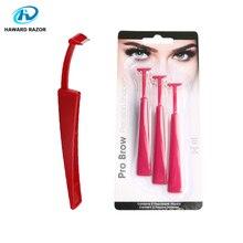 HAWARD RAZOR Women Eyebrow Razor Single Blade Shaver Lady Disposable 3/9Pcs