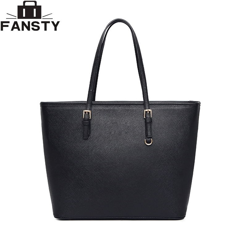New Fashion Women Handbag Female PU Leather Big Bucket Bag High Quality Large Tote Bag Famous Brand Lady Shoulder Bag