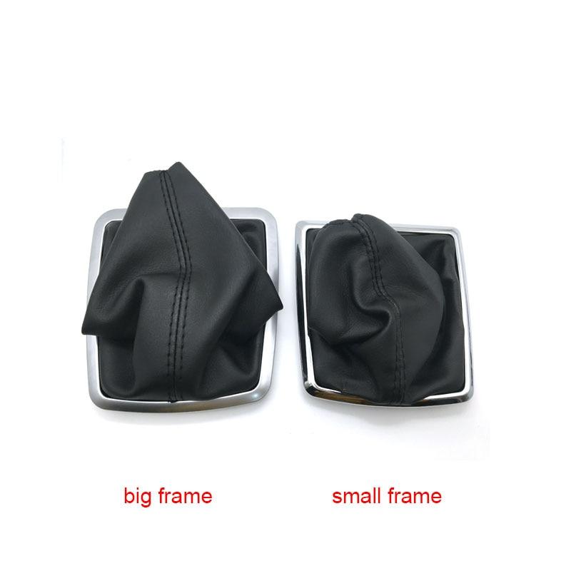 Car Gear Manuel Stick Shift Knob Leather For FORD FOCUS MK2 FL MK3 MK4 MK7 TRANSIT GALAXY FIESTA