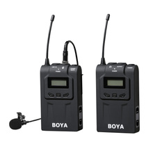 BOYA BY-WM6 Ultra High Frequency UHF Wireless Lavalier Microphone System for DSLR Camera Audio Recorder