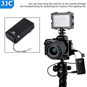 Image 5 - JJC 카메라 무선 소니 ZV1 A7RIV A7SIII A7II A6000 A6300 A6500 RX10II RX100IV FDR AX30 캠코더 컨트롤러