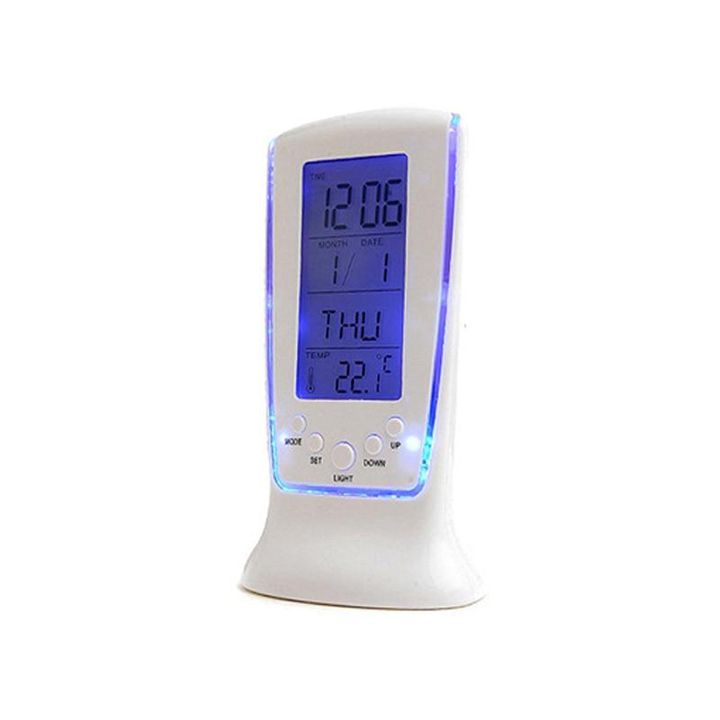 Wholesale creative LED luminous music digital alarm clock timer backlight Blue ray temperature display 510 calendar clock