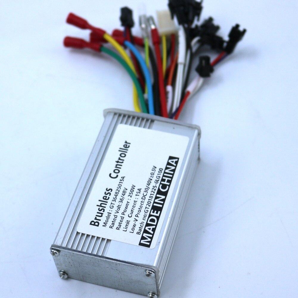 Controlador do Motor e Moto-brushless Sensor de Velocidade Bldc 15a Driver Dual Mode – Controlador Sensorless 36 v 48 250 w