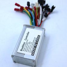 36V 48V 250W 15A BLDC Motor Controller E-bike Brushless Speed Driver Dual Mode Sensor/Sensorless Controller