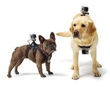 Para GoPro Acessórios Dog Fetch Harness Alça de Ombro Peito Belt Monte Para GoPro Hero 4 3 2 Câmera SJ4000 WI-FI
