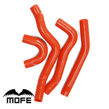 Mofe 4pcs Green Red Blue Silicone Water Radiator Coolant Heater Hose Kit For Lancer EVO 10(China)