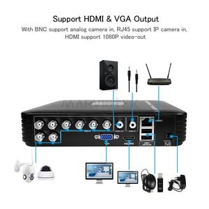 Image 3 - 4 Channel AHD Mini DVR Video Recorder Surveillance Security CCTV NVR 720P/8CH 1080N Hybrid DVR For Analog AHD ONVIF IpCam WiFi