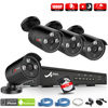 ANRAN P2P Plug And Play 4CH NVR 48V POE CCTV System 1080P HD H 264 Array