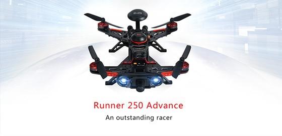 Walkera RUNNER 250 Advance Racing drone w/GPS Devo7 Radio 800TLV Caméra RTF Sac À Dos