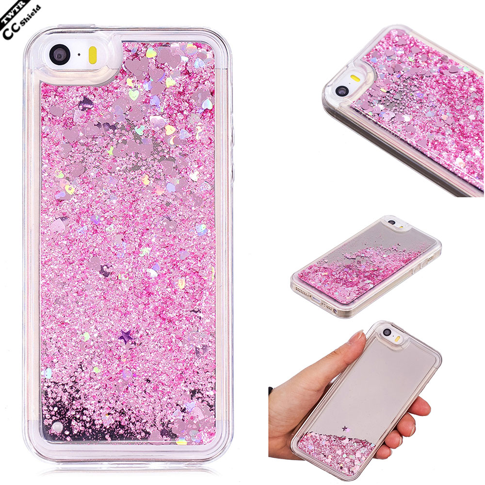 Fitted <font><b>Case</b></font> For Apple <font><b>iPhone</b></font> <font><b>5S</b></font> IPhone5S Bumper Quicksand <font><b>Case</b></font> Mobile <font><b>Phone</b></font> <font><b>Silikon</b></font> Cover For I Phone5S <font><b>Phone</b></font> <font><b>5S</b></font> Mirror Coque
