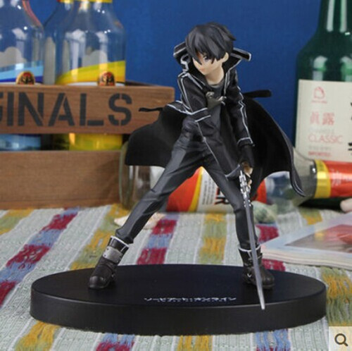 15.5cm Anime Sword Art Online kirigaya kazuto Kirito PVC Action Figure Model Collection Toy a toy a dream sword art online kashuu kiyomitsu action figures 200mm pvc figure sao collection model toys doll anime art online