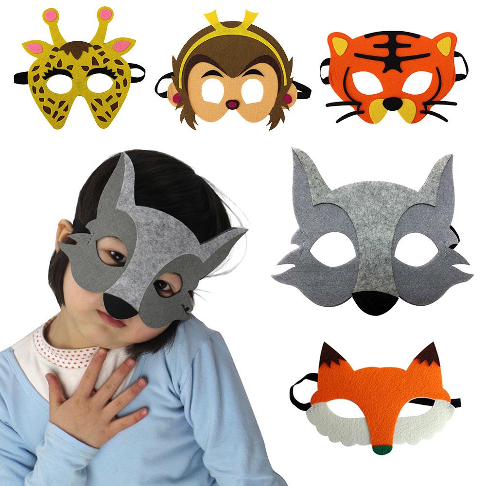 D.Q.Z modeleksaker för nyfödda tecknade djur masker varg kostym - Maskeradkläder och utklädnad