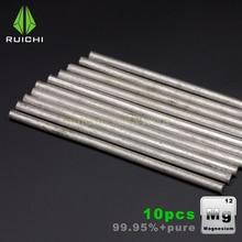 10 قطعة قضبان مغنسيوم معادن مغنسيوم 99.95% خالص