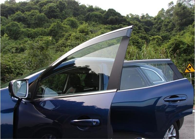For Renault Kadjar Window Visor Sun Rain Deflector Guard Awnings with PP Car-Styling Pro ...