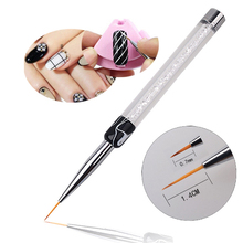 New Design Salon Using Nail Art Flower Painting Brush Pen 7mm/14mm Long Tools