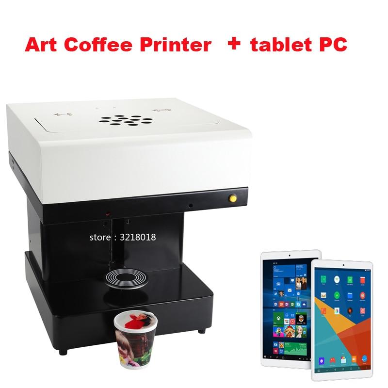 Hot sale Coffee Printer cake Printing machine edible Printer DIY design art design beverage biscuit cream  printer/ latte printe digital inkjet printing machine coffee printer with edible ink