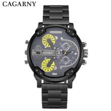 Men Luxury Brand Stainless Steel Strap Fashion Casual Sport Watches Quartz Wristwatches Mens Big Face Relojes
