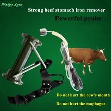 Магнитные поглотители для крупного рогатого скота, коровы, желудка, магнитные металлические железные гвозди, сборщик, экстрактор, ветеринарные медицинские инструменты