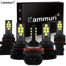 KAMMURI H8 H11 Led 9006 HB4 9005 HB3 H16 5202 PSX24W P13W Led Bulb Car Fog Light 1400LM 6000K White 12V DRL Auto Lamp