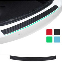 New Rubber Rear Guard Bumper Protector Trim Cover For Nissan Teana X Trail Qashqai Sylphy Sunny