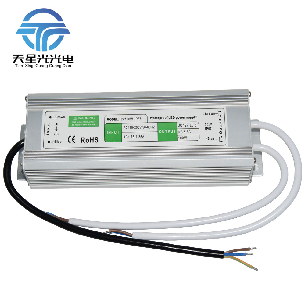 Txg quality ac110 260v to dc12v 10 150w ip67 waterproof outdoor led txg quality ac110 260v to dc12v 10 150w ip67 waterproof outdoor led power supply led light transformer in lighting transformers from lights lighting on workwithnaturefo