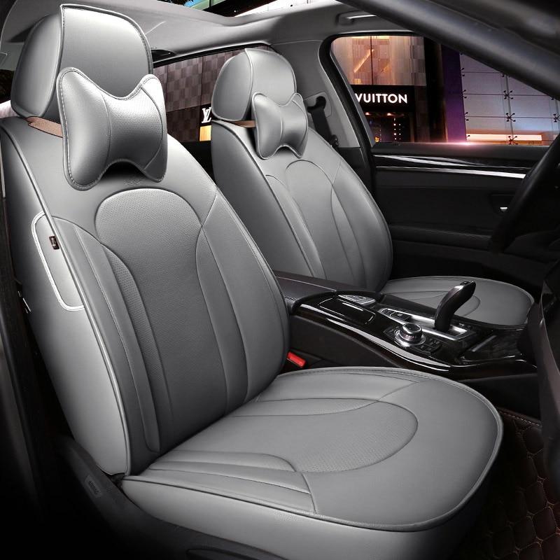 Custom Made Leather Car Seat Cover For Hyundai IX35 IX25