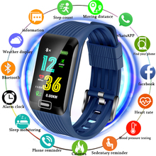 LIGE Smart Bracelet Men Color Display Wristband Heart Rate Activity Fitness Tracker Smart Sport Waterproof Watch for IOS Android цена
