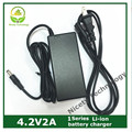 Li-ion Li-polymer charger Lithium battery charger 4.2V2A rechargeable charger For 1 serie of li- ploymer lithium battery