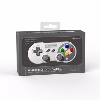 Official 8BitDo SF30 Pro Wireless Bluetooth Gamepad Controller with Joystick for Windows Android macOS Nintendo Switch Steam 5