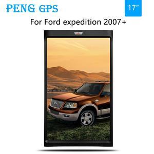 2 + 32 Tesla стиль вертикальный экран Android 7 Автомобильный GPS навигация для Ford expedition 2007 + головное устройство стерео Мультимедиа Аудио