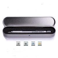 סדרת pg יפני pentel עיפרון מכאני עיפרון אוטומטי עם ברזל קייס מתנות 0.3 0.5 0.7 0.9 מ