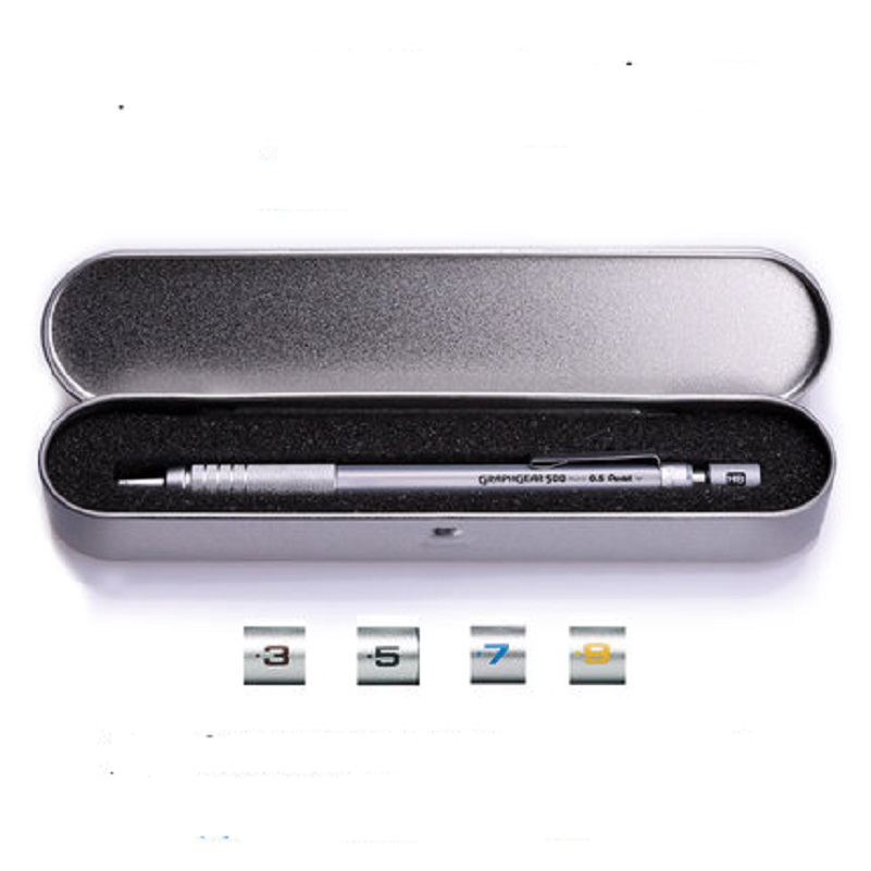 Giapponese Pentel matita meccanica PG serie matita automatica con ferro cassa del regalo 0.3 0.5 0.7 0.9mmGiapponese Pentel matita meccanica PG serie matita automatica con ferro cassa del regalo 0.3 0.5 0.7 0.9mm