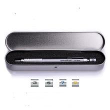 Lápiz mecánico de Pentel japonés, lápiz automático de la serie PG con estuche de regalo de hierro 0,3 0,5 0,7 0,9mm