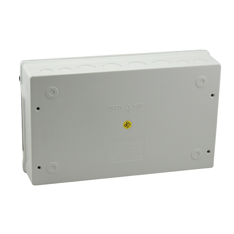 Saipwell 2014 Hot! IP66 Circuit Breaker Box 18 Ways Waterproof PC Outdoor Distribution Box  230*381*110mm