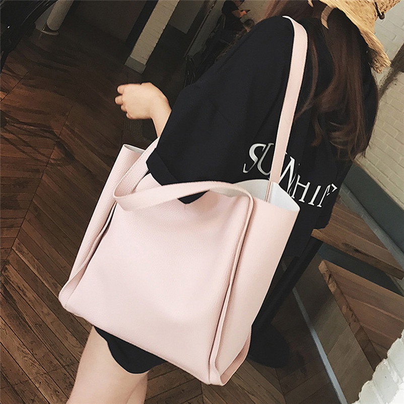 Women Two Piece Shoulder Bag Handle Bags Fashion Messenger Bags Handbag Female High Quality Bag Proxy Purchase A7