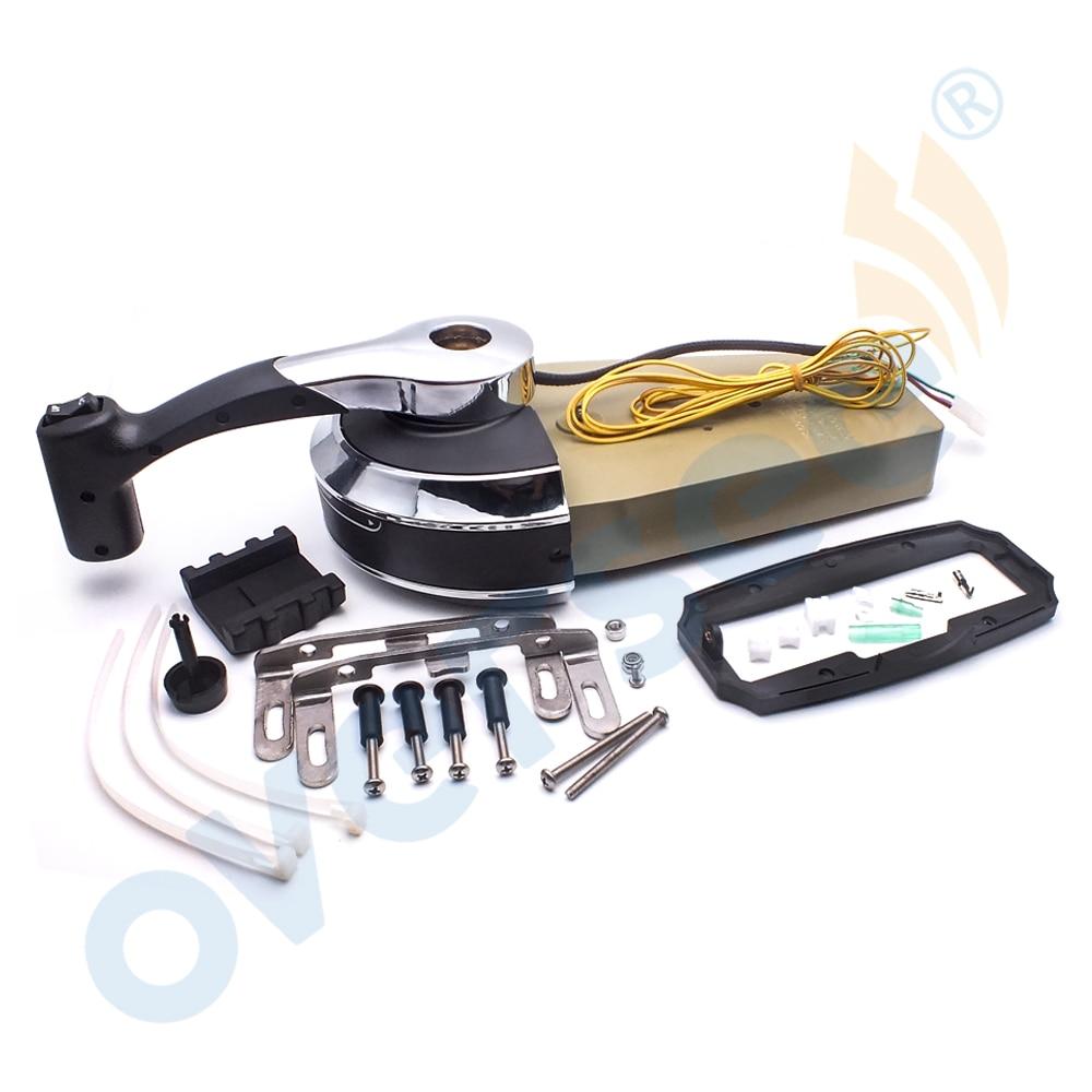 Binnacle Outboard Control Console Remote Control Kit for MERCURY 8M0059686