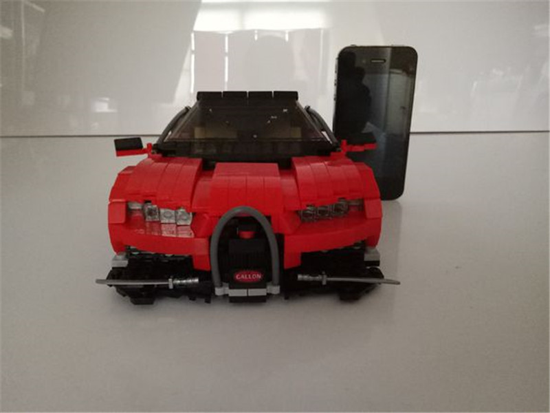 859Pcs Block Creative MOC Technic Series The Gallon Supercar Set XingBao Educational Building Blocks Bricks Toys Model xingbao 01001 creative chinese style the chinese silk and satin store 2787pcs set educational building blocks bricks toys model