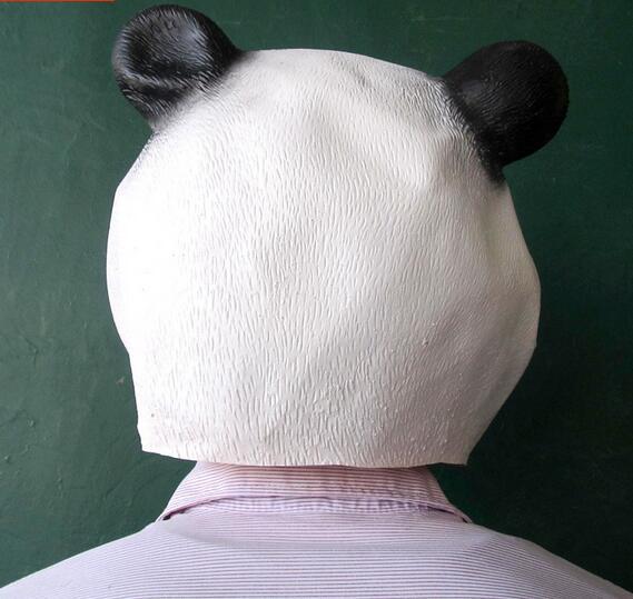 Disfraz de panda de máscara de cabeza de animal nuevo y caliente - Para fiestas y celebraciones - foto 4