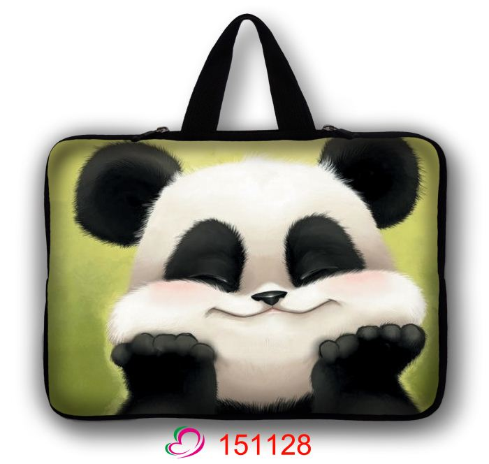 Lovely Panda Soft font b Laptop b font Sleeve font b Bags b font 11 12