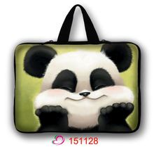 Lovely Panda Soft Laptop Sleeve Bags 11 12 13 14 15 17 Laptop Bag Case For Macbook Air Pro Retina For Xiaomi Air Storage Bag