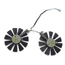 88 мм FDC10U12D9-C T129215BU GTX1070 RX480 RX570 VGA Охладитель вентилятор заменить для ASUS 1066 EX-GTX1070-O8G DUAL-RX480-O4G EX-RX570-O4G карты