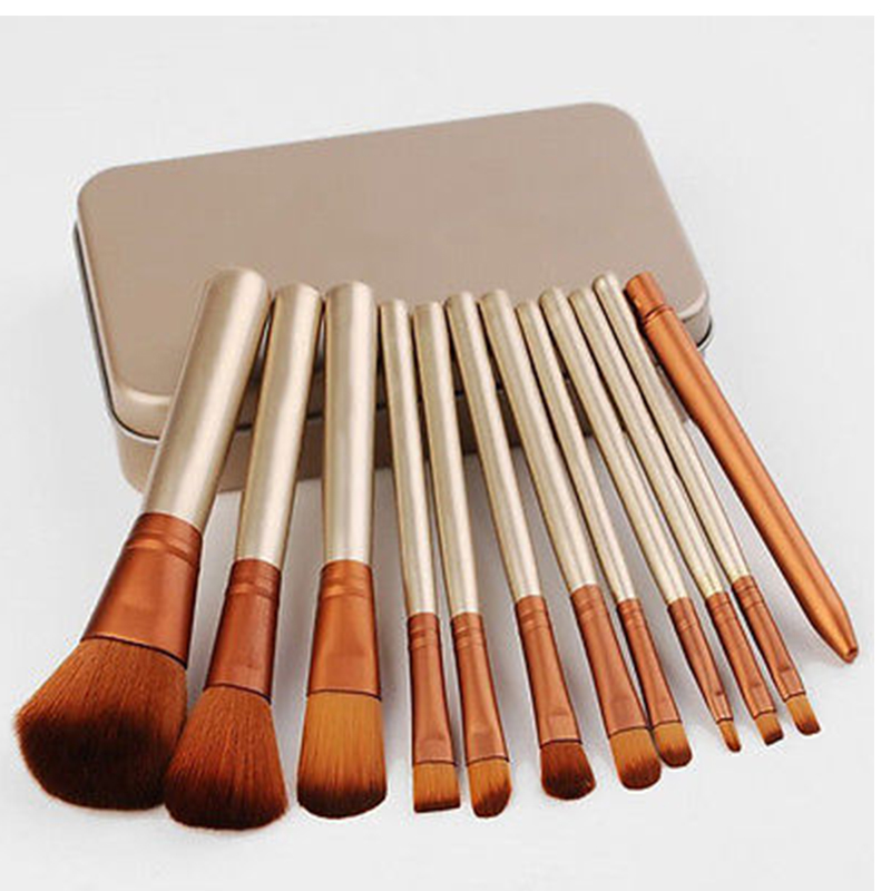 12pcs/et Professional New N* 3 Makeup Brushes Tools Set Make Up Brush Tools Kits For Eye Shadow Palette Cosmetic Brushes new arrived professional 10pcs makeup brush set cosmetic tools make up for you eye shadow bruse kit christmas gift
