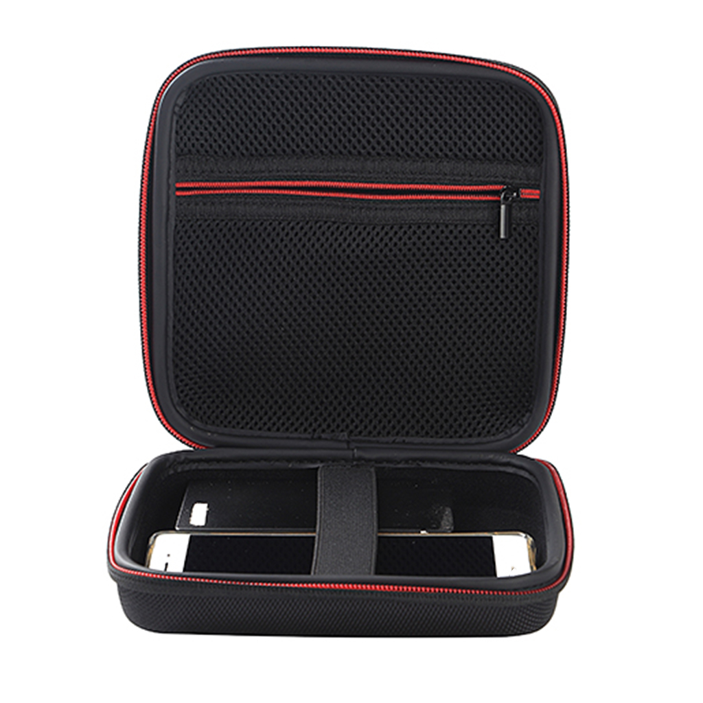 NEW Carrying Square Case Bag Hard Storage Box For Earphone DVD CD Driver