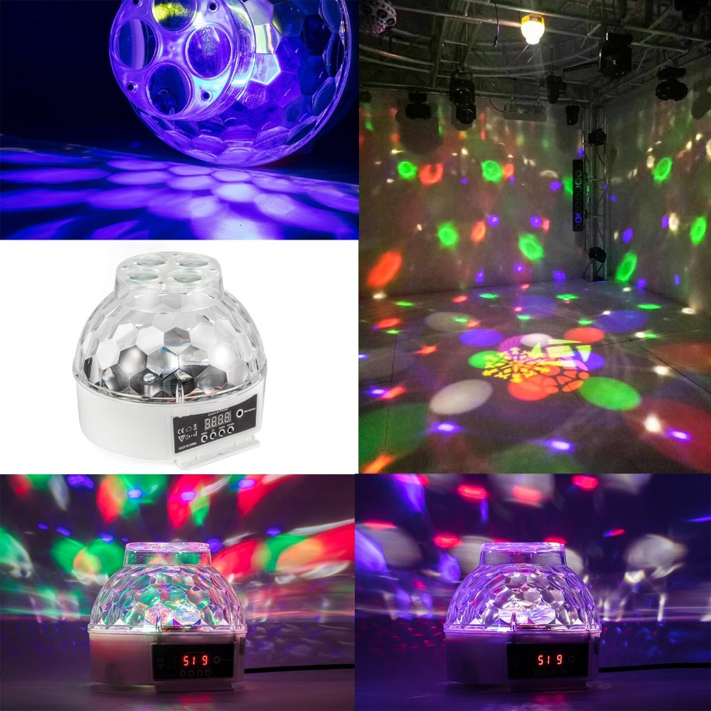 Us 39 9 Led Flower Magic Ball Party Light Special Effects Stage Lighting Flowers Beams In Effect From Lights