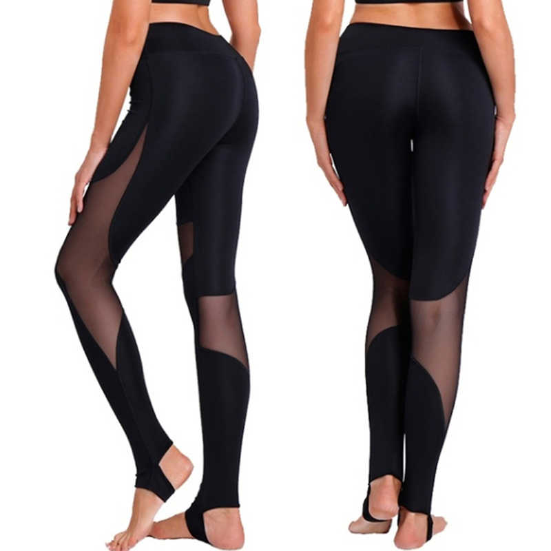 Della Maglia di cucitura Leggings Moda Casual Fitness di Alta Qualità Leggins Per Le Donne Femminili Passo Sul Piede Elasticità Vestiti Allenamento
