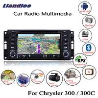 Liandlee For Chrysler 300 / 300C 2008~2010 Android Car Radio CD DVD Player GPS Navi Navigation Maps OBD Camera TV HD Screen